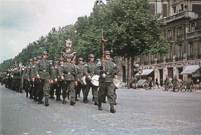 ドイツ軍パリ入場