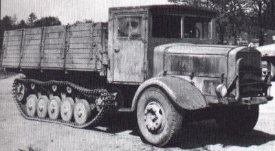 メルセデス・ベンツ L4500Rマウルティア ハーフトラック