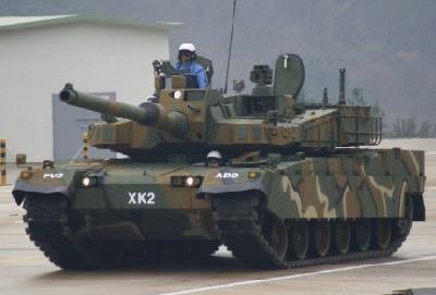 韓国 XK2 Black Panther 戦車(試作車)